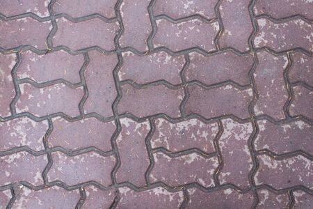 Structure. Wet brick purple.