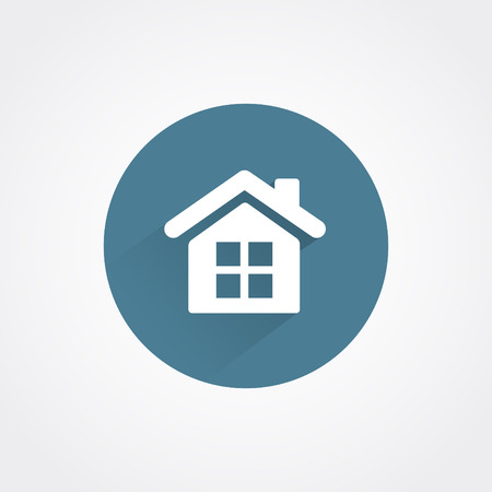 small house: Small house - Vector icon isolated