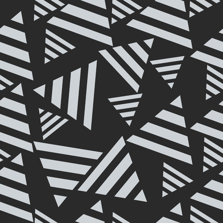 wallpapering: Geometric seamless pattern, triangles. Concept art  vector