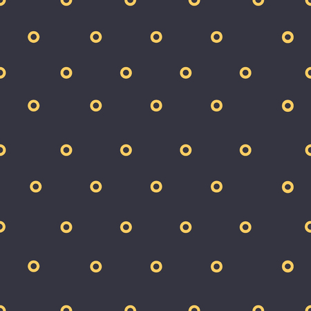 Dotted seamless pattern in retro colors.Vector illustration