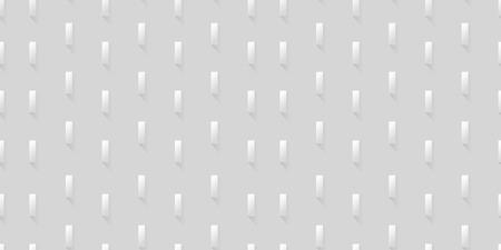 White seamless geometric pattern. Vector background illustration Imagens - 63465900