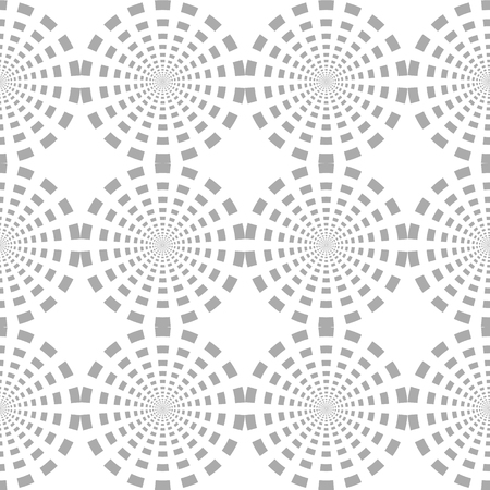 Seamless pattern spot style circles. White and black . vector illustration