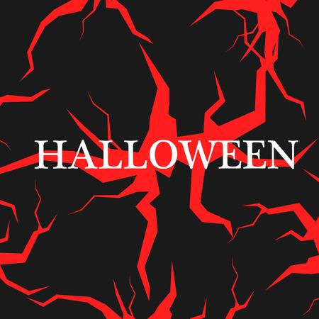 Happy Halloween message design background. Vector illustration Imagens - 63465903