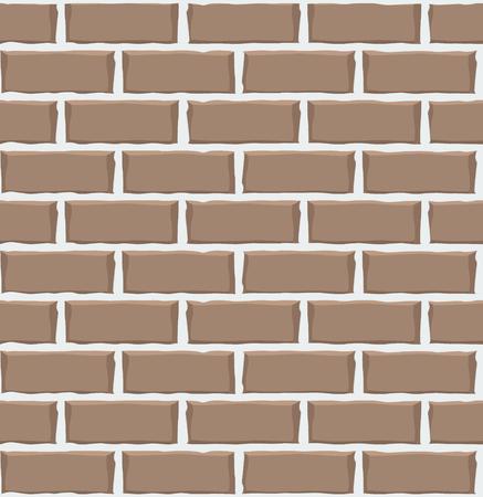 Brick wall seamless pattern texture. Vector illustration Imagens - 63465846