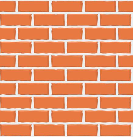 Brick wall seamless pattern texture. Vector illustration Imagens - 63465855