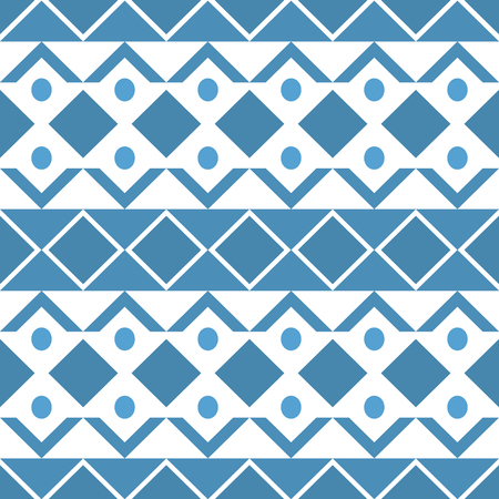 Geometric ethnic oriental seamless pattern traditional Design for background.Vector Imagens - 63465791