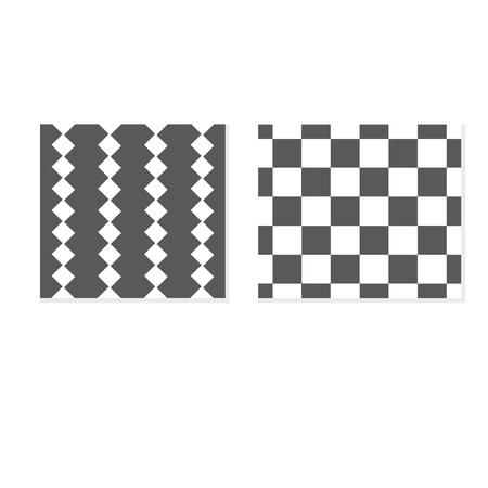 Set classic geometric patterns. Vector black and white textures