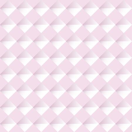 Pink seamless geometric pattern. Vector background illustration Imagens - 63465786