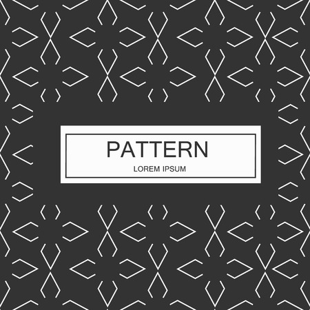 Seamless pattern with dotted elements. Vector repeating texture. Imagens - 63714806