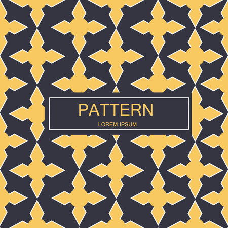 Seamless pattern with dotted elements. Vector repeating texture. Imagens - 63714796