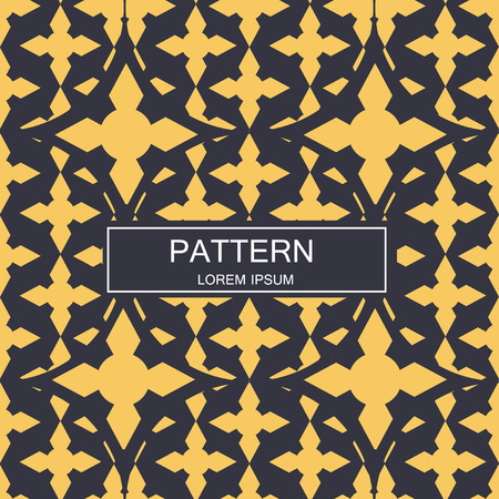 Seamless pattern with dotted elements. Vector repeating texture. Imagens - 63714797