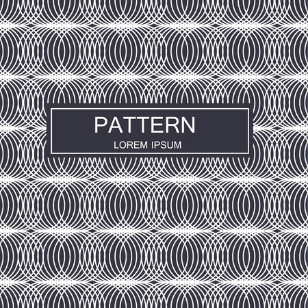 Abstract striped textured geometric seamless pattern. . Banco de Imagens