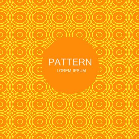 Abstract striped textured geometric seamless pattern. Vector illustration Ilustração