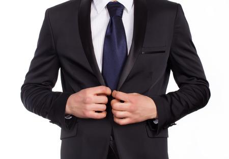 accesory: Suit Stock Photo