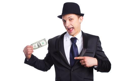 smug: Bank job Stock Photo