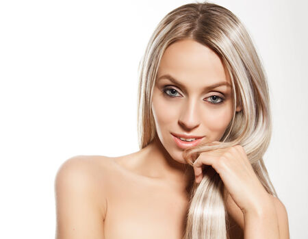 Beautiful woman face  Perfect makeup  Beauty problem and clean skin, aging and youth concept, beauty treatment
