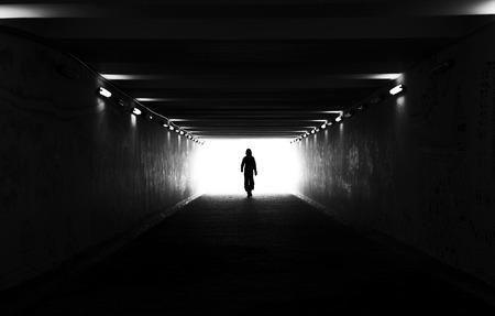 Light at the end 版權商用圖片 - 29470282