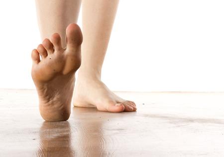 buena salud: Concepto de la salud del pie femenino
