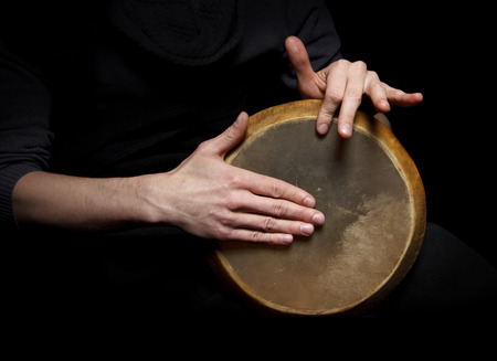 drums: Hand drum Stock Photo
