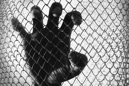 prisoner of war: prisoner hand