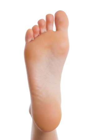 feet relaxing: Female leg