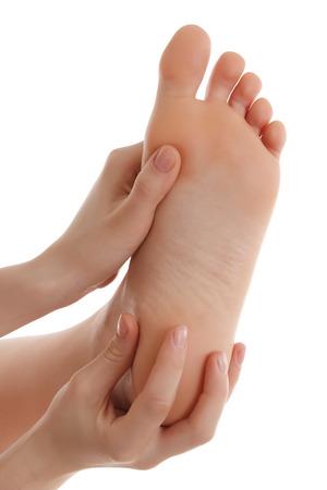 piedi nudi di bambine: Gamba femminile