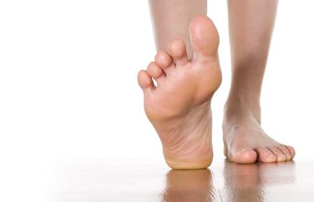 piedi nudi di bambine: Piedino femminile