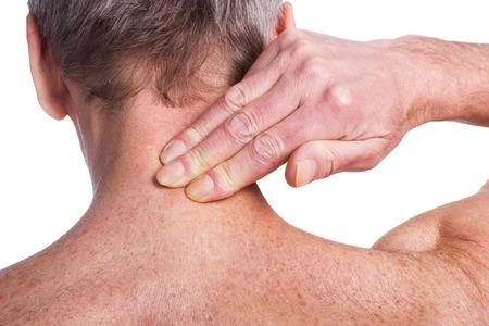 occiput: Pain Stock Photo