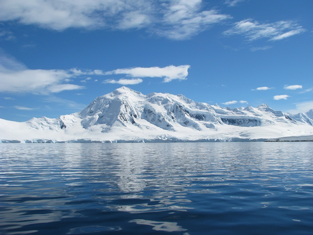 Antarctica landschap Winter op bevroren dag