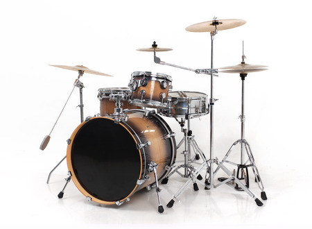 drum and bass: drum set