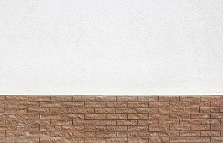 Empty street wall background, background for any design photo