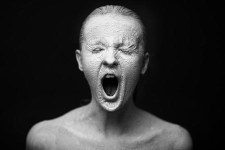 scream Standard-Bild