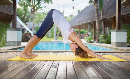 karemat: yoga pose