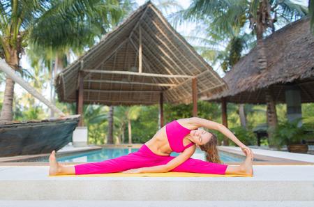 bracing: yoga pose
