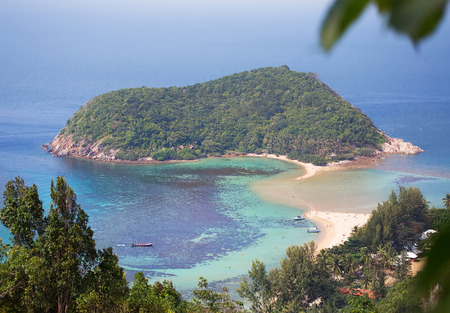phangan: beach of Koh Phangan island.Thailand