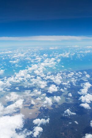 viewport: Sky background.view on Thailand earth Stock Photo
