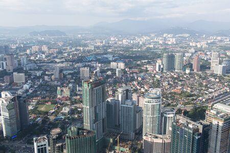 kuala lumpur city: view of the city Kuala Lumpur, Malaysia
