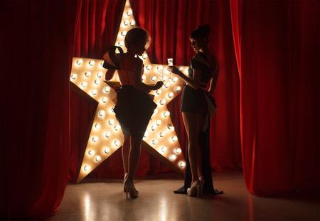 Tape étoile Banque d'images - 44147872