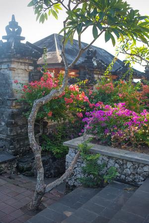 balinese: Inside of balinese temple at Pura Uluwatu, Bali, Indonesia