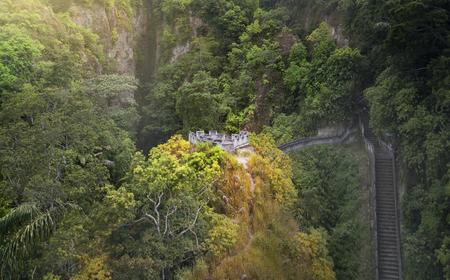 Great Wall of Koto Gadang,West Sumatra,Indonesia