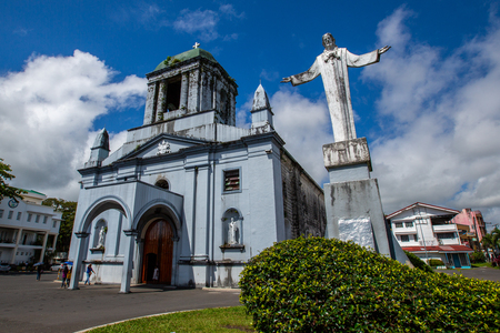 St. Gregory the Great Cathedral,Legazpi city,Philippines Imagens