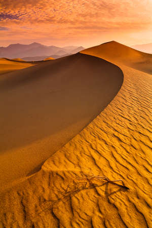stovepipe: Mesquite Flat Dunes at Death Vakkey National park