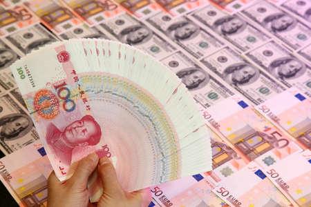 wrestle: Chinese money, cny