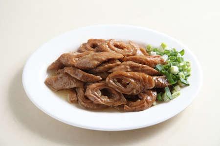 Stewed pork intestine