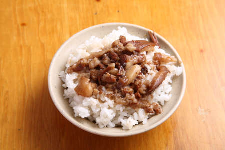 soy-stewed pork rice, Braised pork rice