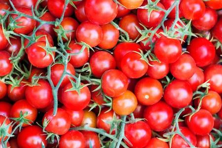 Photo of fresh tomatoes background Stock fotó