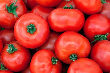Photo of fresh tomatoes background photo