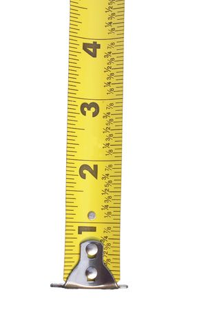 increment: tape measure Stock Photo