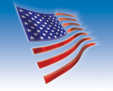 usa flag Фото со стока
