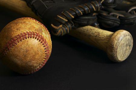 baseball bat and glove Stock Photo - 753429